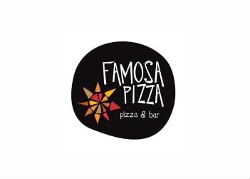 Logo Famosa Pizza - Ribeirão Preto