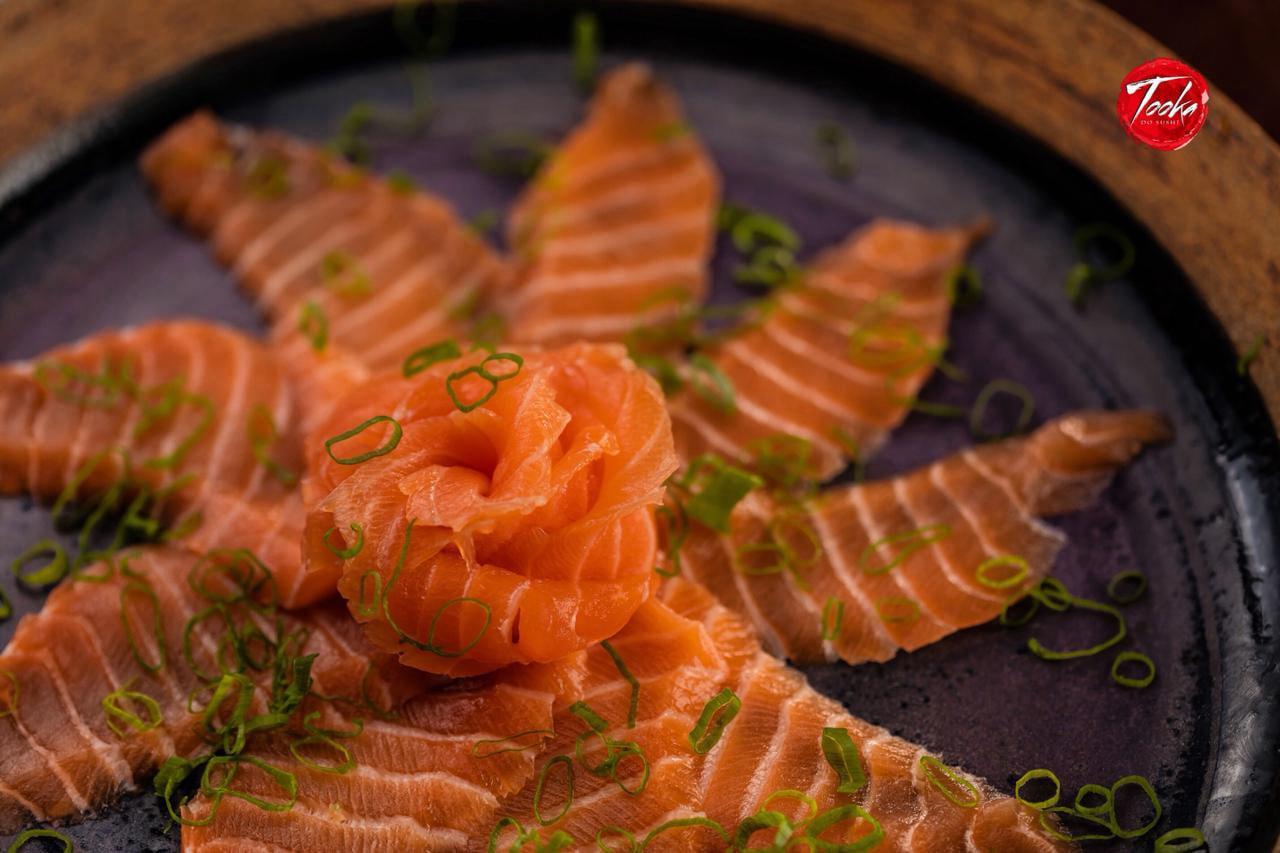 Ambiente do Tooka do Sushi - Gruta de Lourdes - Maceió