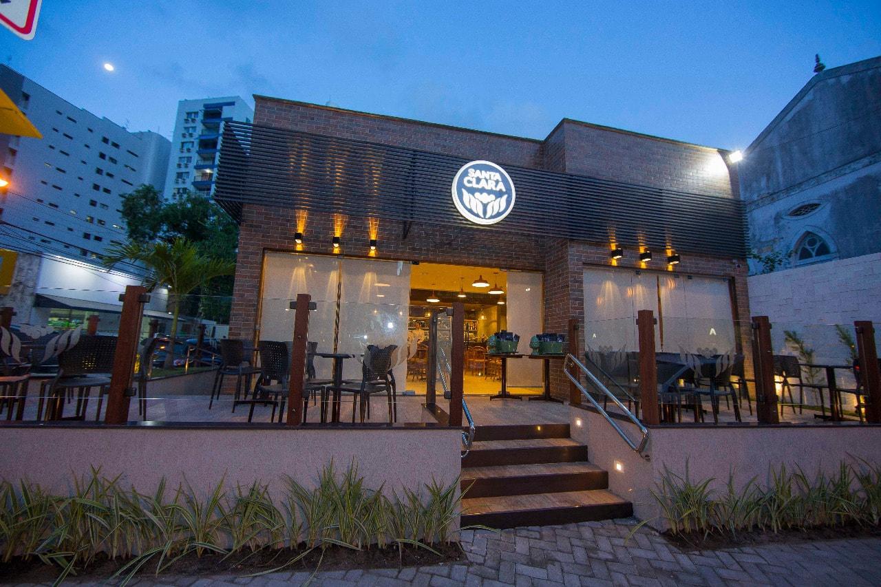 Ambiente do Café Santa Clara - Graças - Recife