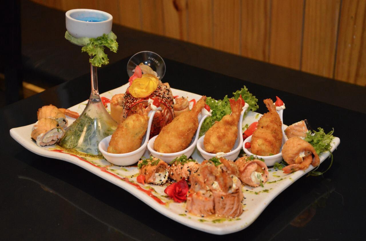 Ambiente do Maki Sushi Bar - Fortaleza
