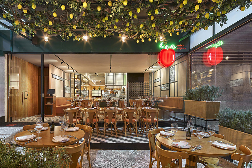 Ambiente do EVA Cucina - Belo Horizonte