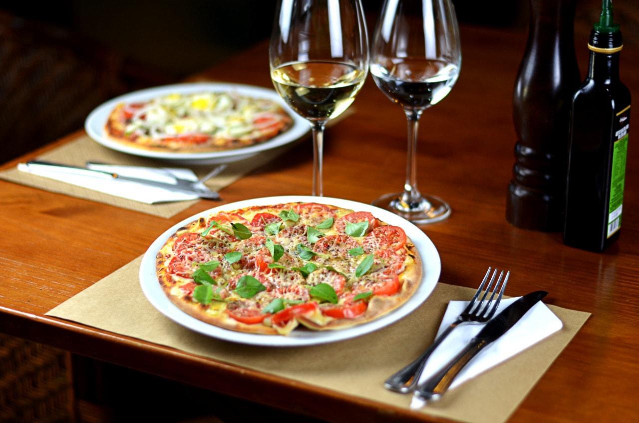 Ambiente do Palato Pizza - Maceió
