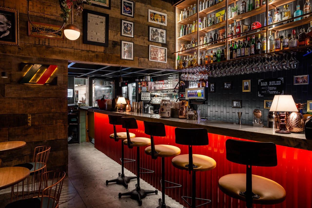 Ambiente do Stuzzi Bar Leblon - Rio de Janeiro