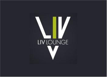 Logo Liv Lounge - Brasília